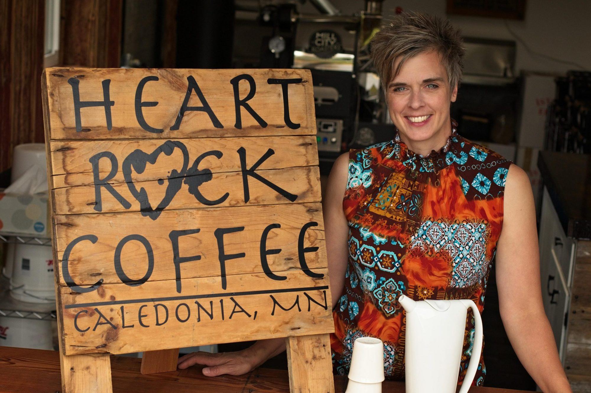 Heart Rock Coffee